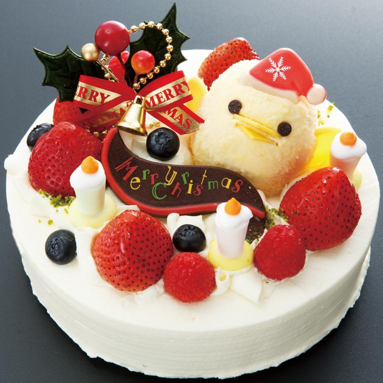 ぴよりんクリスマスケーキ